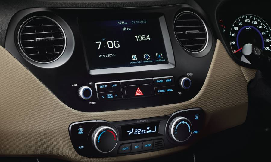 Hyundai Grand i10 2017 Music System with AC Vent