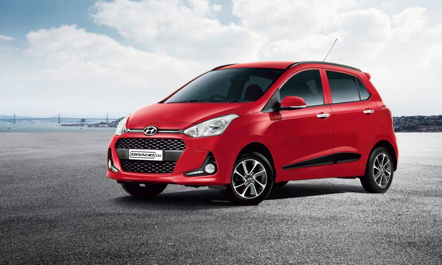 Hyundai Grand i10 2017 Red