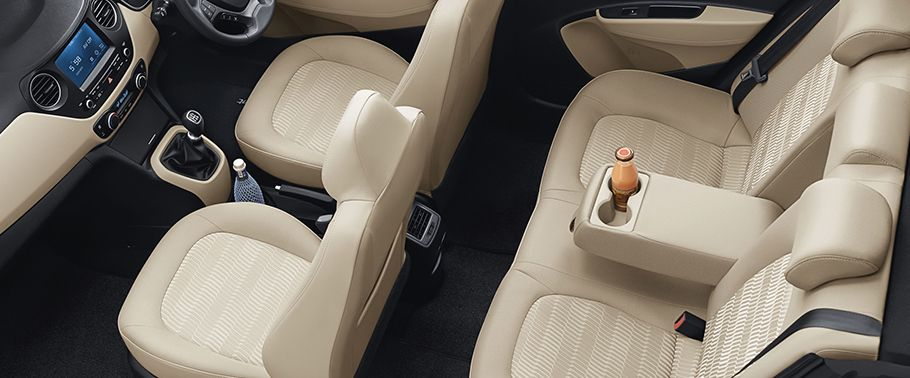 2017 Hyundai Xcent Interior with Seat
