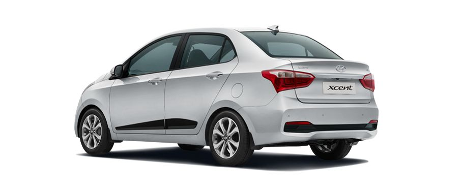 2017 Hyundai Xcent Rear View