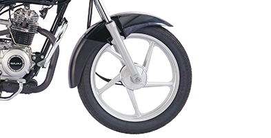 New Bajaj CT100 Alloy Wheel