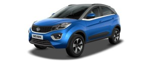 Tata Nexon Blue HD Wallpaper