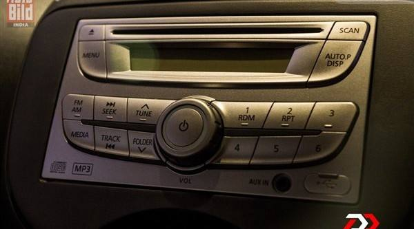 Nissan Micra Music System