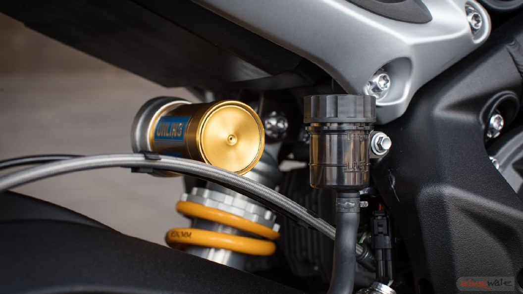 Triumph Street Triple Suspension