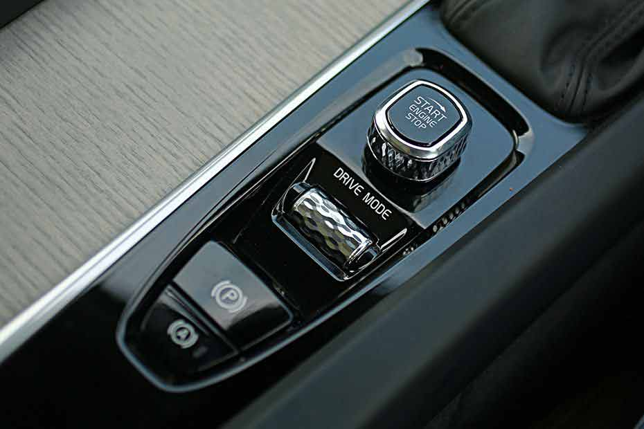 Volvo XC60 ignition start stop button