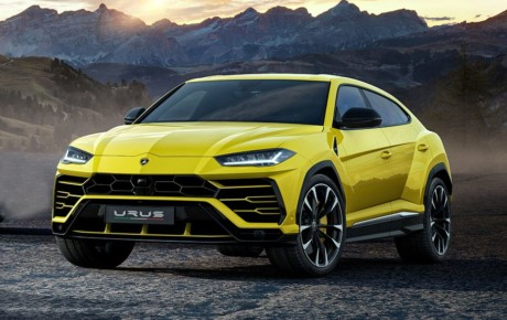 Catch New Lamborghini Urus SUV Car