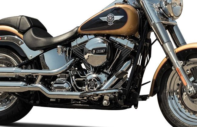 Harley Davidson Fat Boy engine