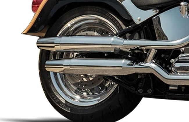 Harley Davidson Fat Boy Exhaust Pipe