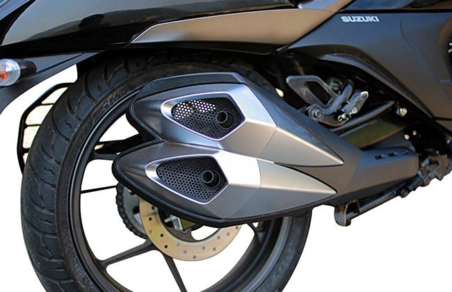Suzuki Intruder 150 Exhaust Pipe
