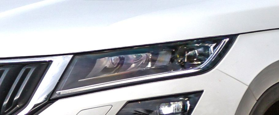 Skoda Kodiaq headlight